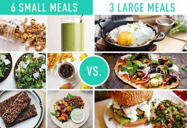 3vs6 meals