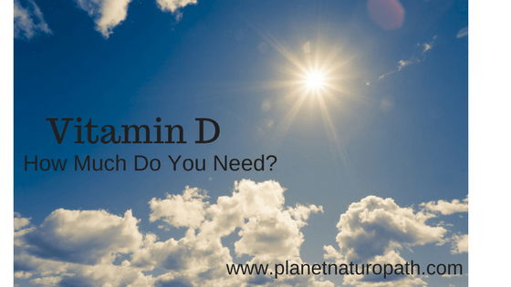 Vitamin D how much do you need