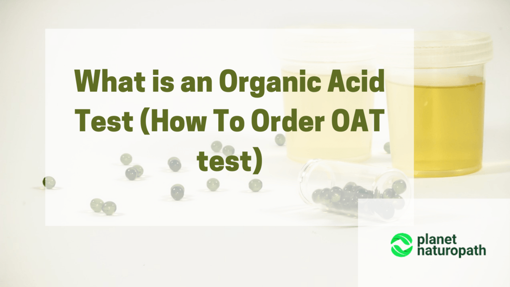 what is the organci acid test