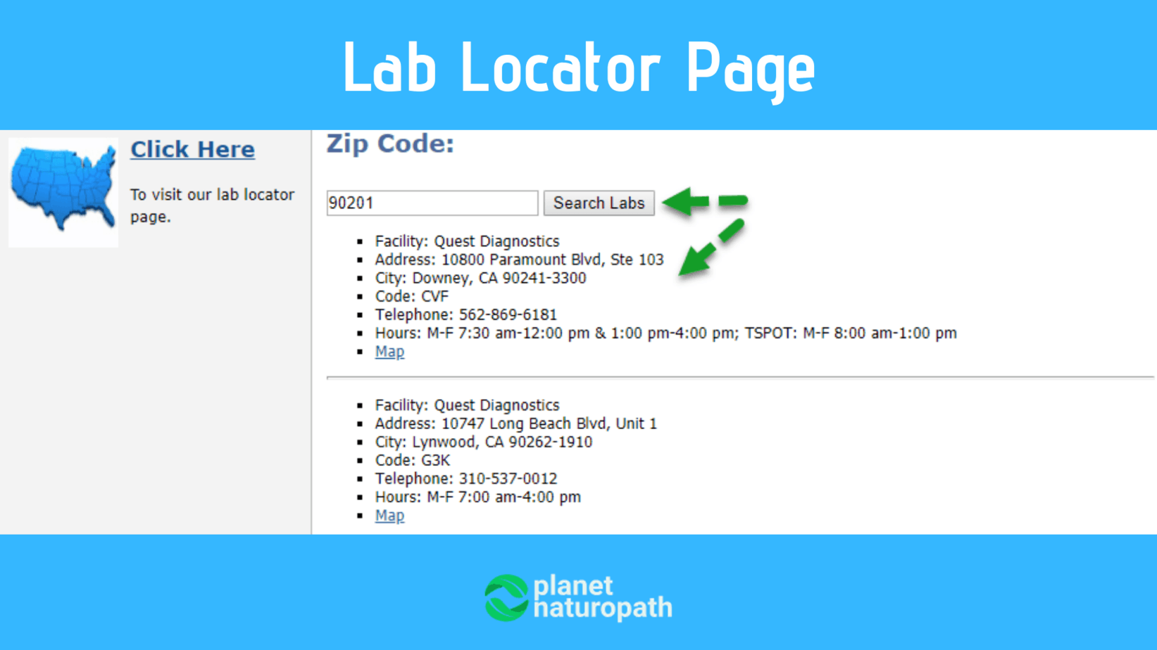 Lab-Locator-Page-of-DirectLabs