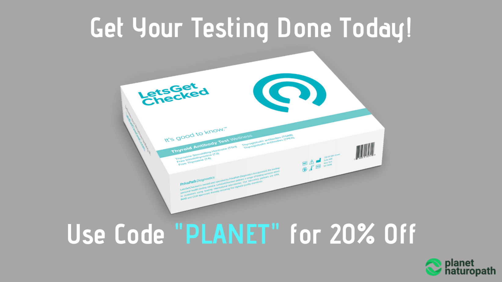 Use Code _PLANET_ for 20% Off