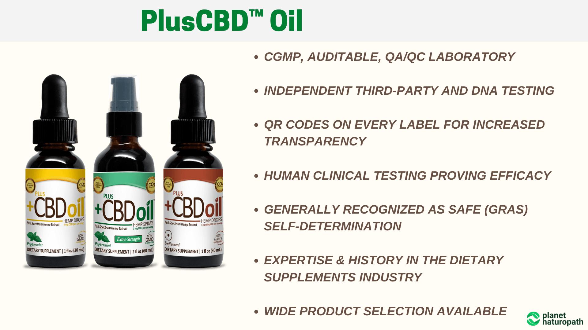 PlusCBD™-Oil