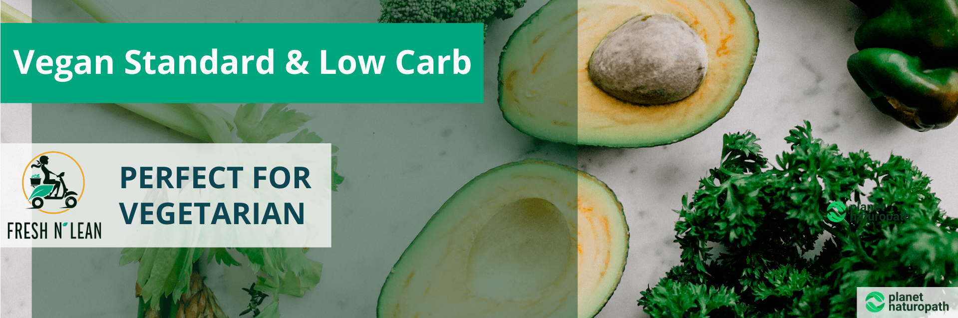 Fresh n' Lean Vegan Standard & Low Carb