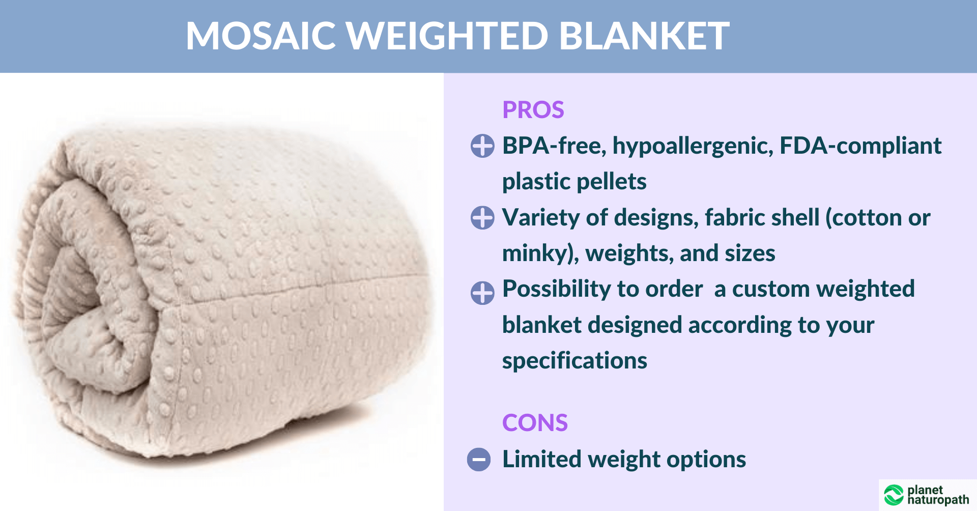 Mosaic-Weighted-Blanket